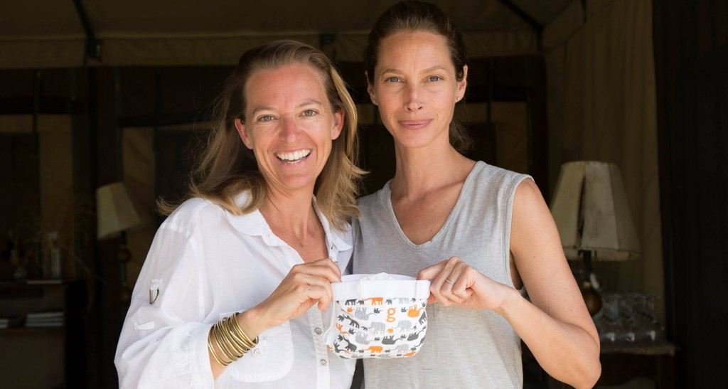 Christy Turlington Burns Every Mother Counts gDiapers