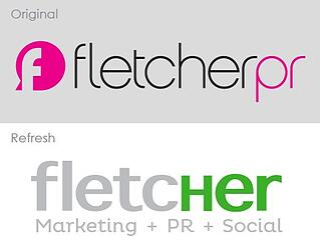 Fletcher Marketing PR brand refresh
